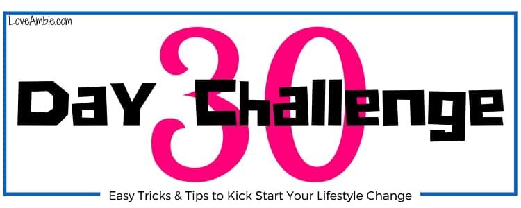 30 Day Challenge Heading