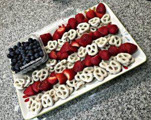 Healthy, Easy & Patriotic Party Appetizer