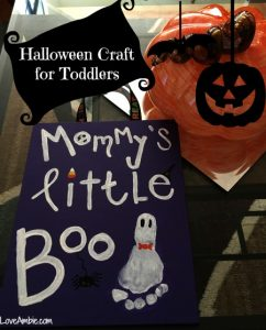 Halloween Craft for Toddlers and Babies