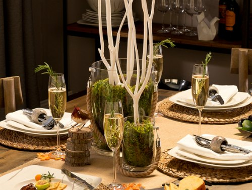 Casual Kitchen Table Centerpieces