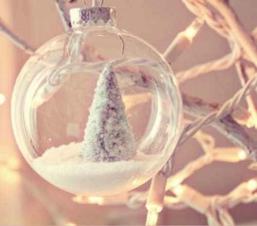DIY Christmas Ornament - Winter Wonderland Ornament