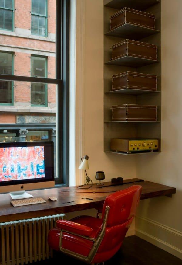 Corner Shelf Design - Metal Corner Wall Shelf