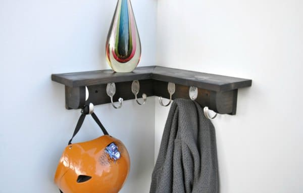Corner Shelf Ideas - Multipurpose Corner Shelving