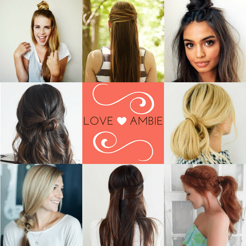 21 cute easy updo hairstyles love ambie 21 cute and easy hairstyle updos pmusecretfo Image collections