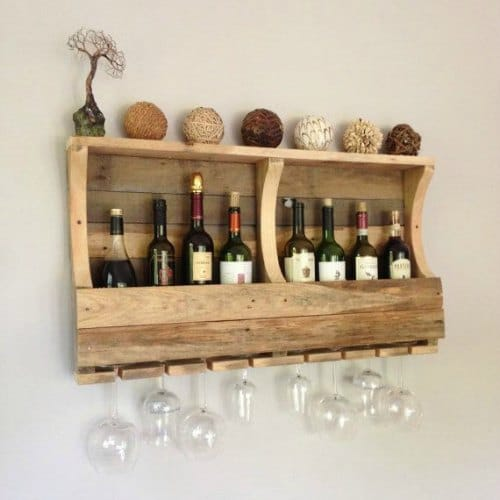 13 Pallet Wine Racks Love Ambie