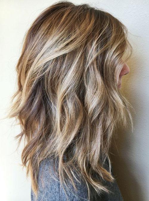 Lob Hair - Extra Long Lob Hairstyle