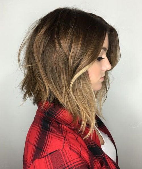 Lob Hairstyle - A-line Long Bob Hair