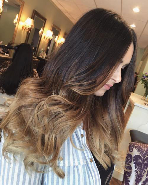 Best ombre hairstyles blonde red black and brown hair love ambie brown to blonde ombre urmus Image collections