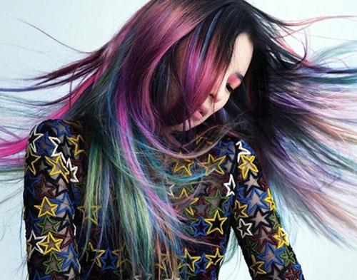 Hair Painting - Mermaid Color