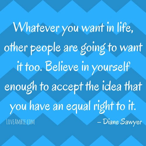 Inspirational Quote - Successful Women Quote - Diane Sawyer Quote