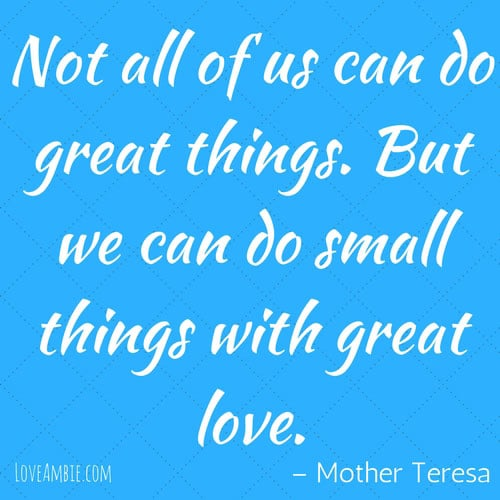 Inspirational Quote - Successful Women Quote - Mother Teresa Quote