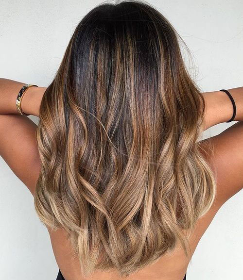 Light Brown Ombre Hair
