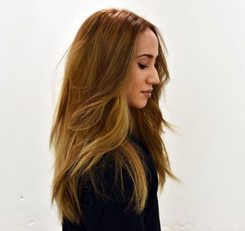Natural Fluid Hair Painting Technique
