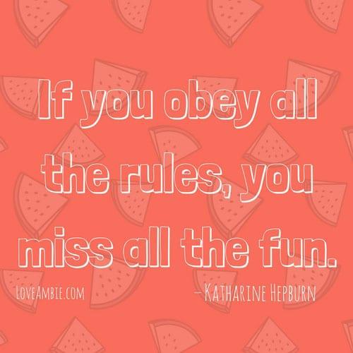 Inspirational Quote - Successful Women Quote - Katharine Hepburn Quote
