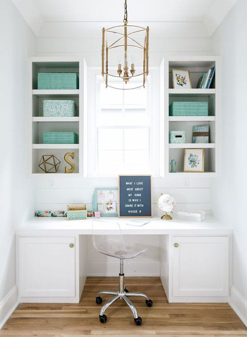 Small Home Office Organization