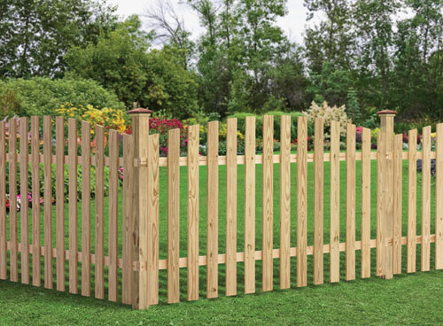 Spaced Picket Fence