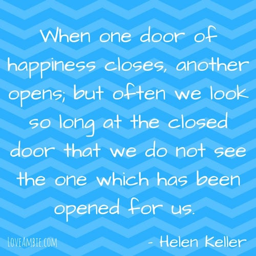 Success Quote for Women - Helen Keller Quote - Inspirational Quote