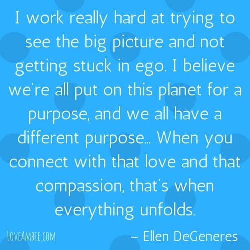 Success Quote for Women - Inspirational Quotes - Ellen DeGeneres Quote
