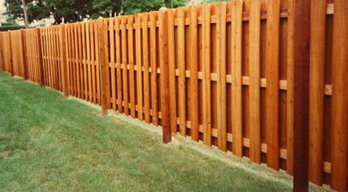 wooden fence - Wood Fence Designs Ideas