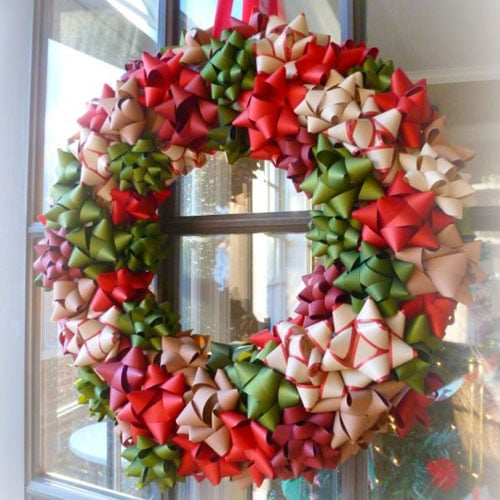 Xmas wreath - DIY Christmas Wreath Ideas