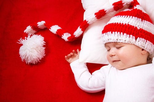 Baby Christmas Photo Ideas - Baby first Christmas Photo Shoot
