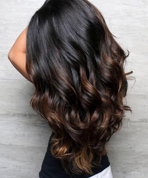 Balayage on Dark Hair - Best Balayage for Dark Hair