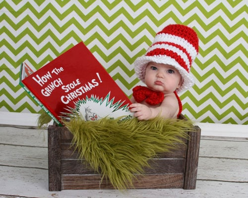 How The Grinch Stole Christmas Baby Christmas Photo