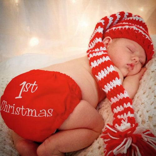 Newborn Christmas Photo Ideas