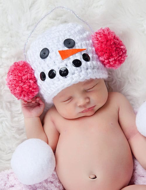 Snowman Baby Christmas Picture Ideas