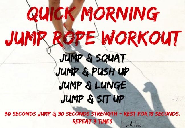 Quick Morning Workout 2 - Easy Exercises to do at home