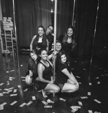 Girls Night Out Pole Dancing