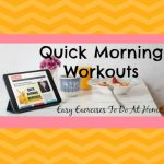 Quick Morning Workouts To Do At Home