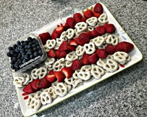 Healthy, Easy & Patriotic Party Appetizer