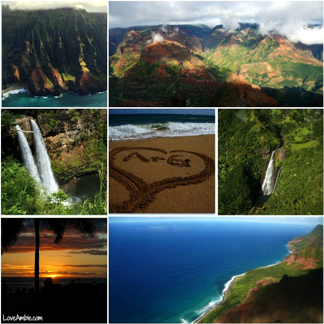 Kauai Picture Collage