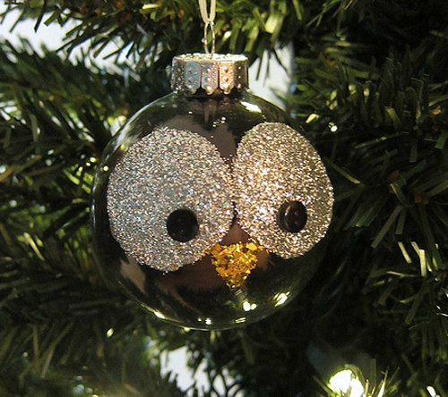 DIY Christmas Ornament adorable owl ornament