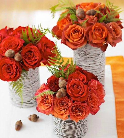 Thanksgiving Decoration Ideas - Floral Centerpiece