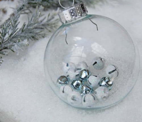 DIY Christmas Ornament - jingle bells ornament