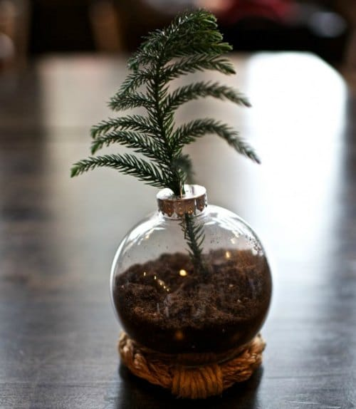 DIY Christmas Ornament - Mini Christmas Tree Ornament