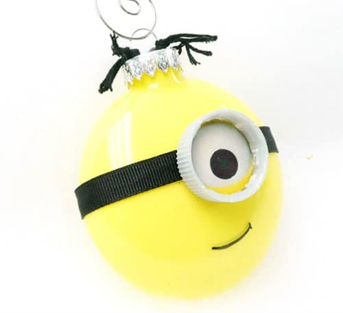 DIY Christmas Ornament - minion ornament