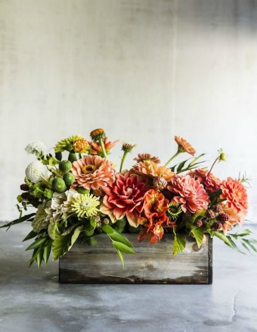 Thanksgiving Centerpiece Table Decorations - Rustic Thanksgiving
