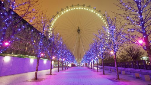 Cool Christmas Decorations - Ferris Wheel