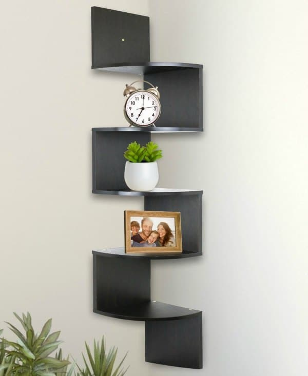 Corner Shelving Ideas - Wall Mounted Corner Shelves