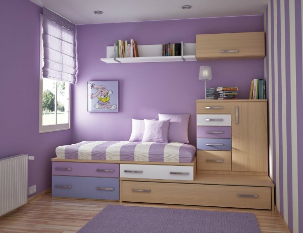 Girls Bedroom Decor - Lavender Decor