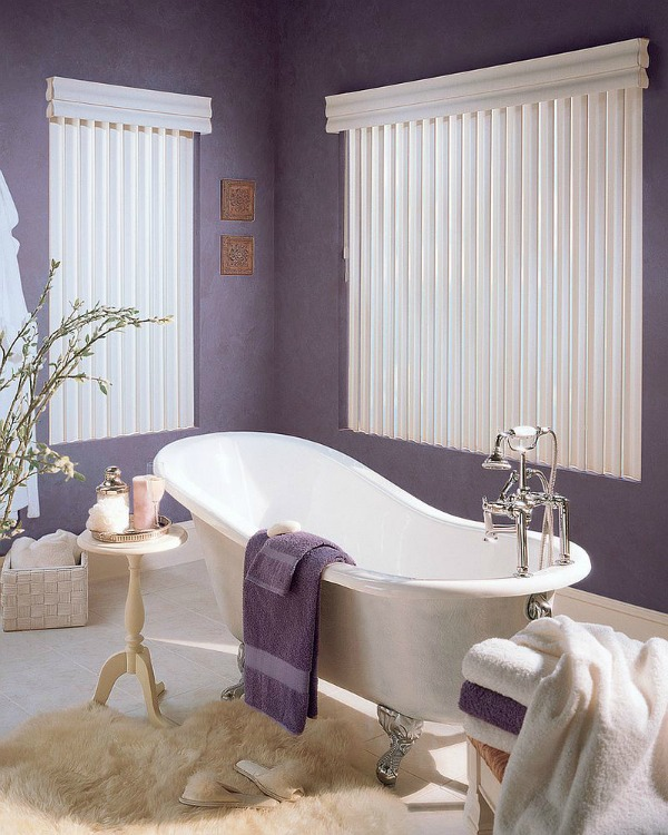 Lavender Bathroom Decor