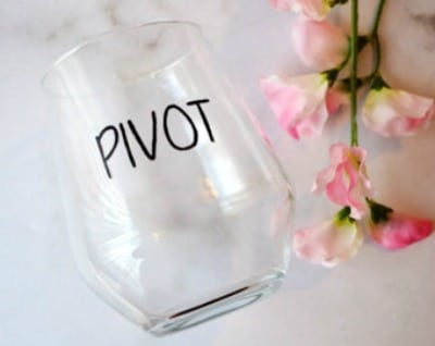 Pivot Wine Glass