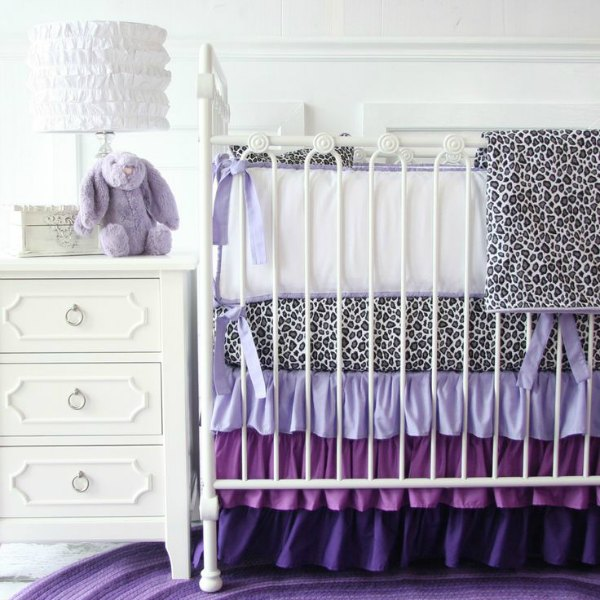 Purple Baby Room - Purple Baby Bedding