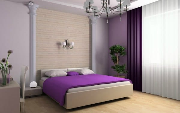 Purple Bedroom Ideas - Purple bedding