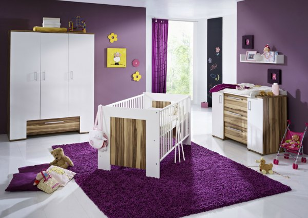 Purple Nursery - Bold Purple Accessories