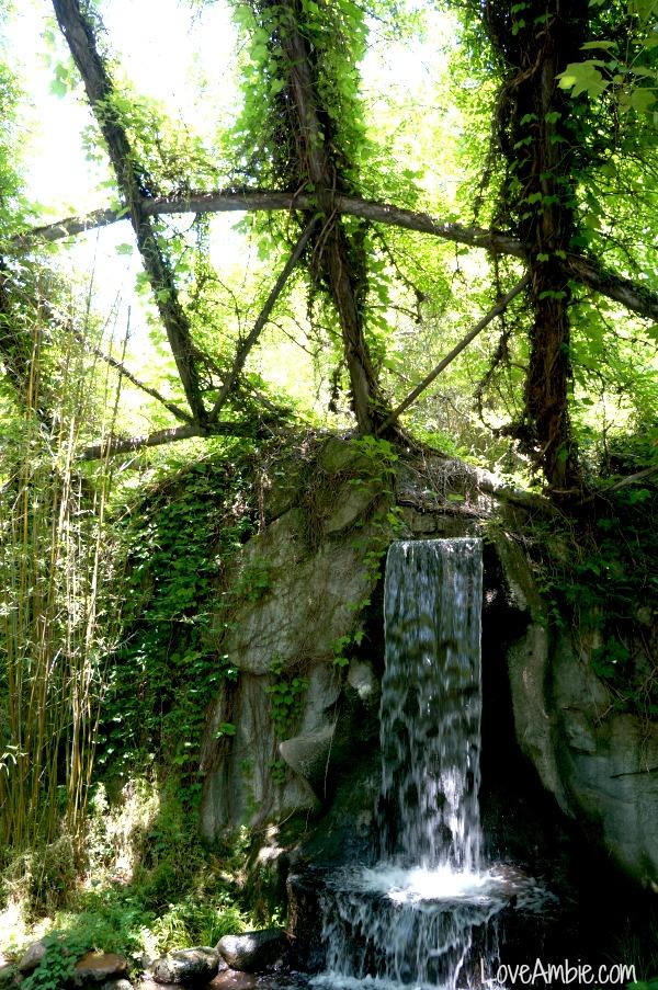 Shanghai Zoo Waterfall