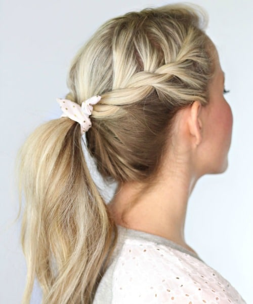 Double Braided Ponytail - Hairstyle Ideas